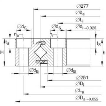 Crossed roller bearings - XU080264