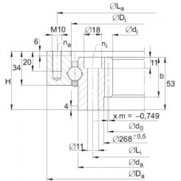 Four point contact bearings - VI140326-V