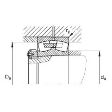 Spherical roller bearings - 241/800-B-K30-MB