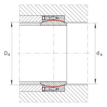 Large radial spherical plain bearings - GE560-DW