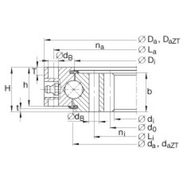 Four point contact bearings - VI160420-N