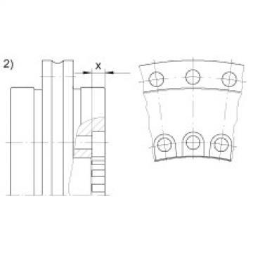 Axial/radial bearings - YRTSM325