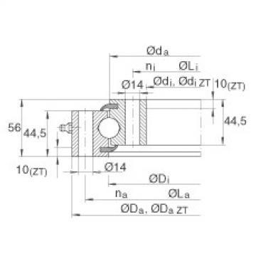Four point contact bearings - VSU200414