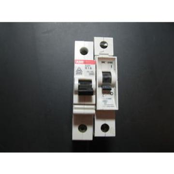 2X MIXED SET ABB  S 271 K1A CIRCUIT BREAKER SIEMENS 5SX2 CIRCUIT BREAKER