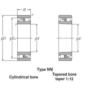 Bearings Cylindrical Roller Bearings NN3144