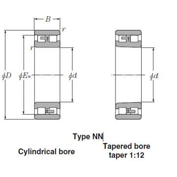 Bearings Tapered Roller Bearings NN4922K