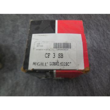 NEW McGILL LUBRI-DISC CAM FOLLOWER BEARING # CF3SB