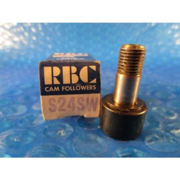 "RBC S24 SW, 3/4"" Roller Diameter; Cam Follower (=2 Mc Gill CF3/4 SB)"