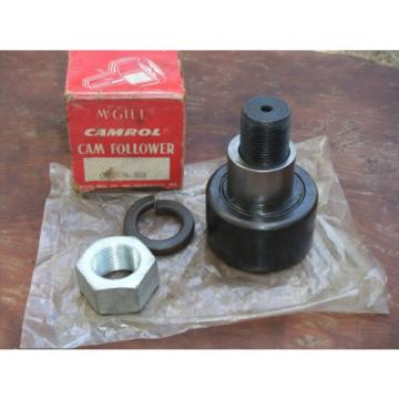 "McGill Camrol CFE 3 SB Cam Follower CFE3SB 3"" Bearing 1-1/4"" Stud NOS Unused"