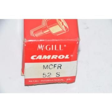 McGill (Regal) MCFR 52 S Crowned Cam Follower - 52 mm Roller Dia, 24 mm