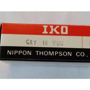 CRY18VUU IKO CAM FOLLOWER YOKE TYPE