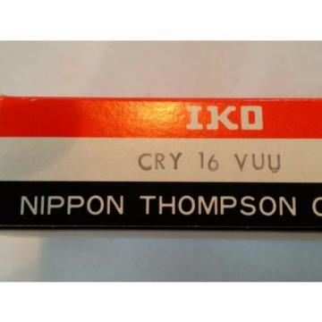 CRY16VUU IKO CAM FOLLOWER YOKE TYPE