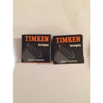 NEW LOT Of 2 Torrington Timken CRS-16 Cam Follower , 16 lots available