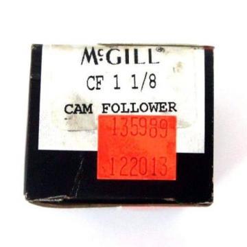 LOT OF 2 NIB TORRINGTON & MCGILL CF-1-1/8 CAM FOLLOWERS CF-1-1/8-S, CF118