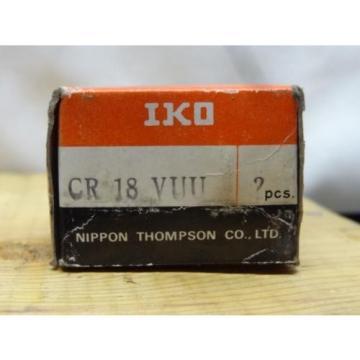 2 Boxes of Cam Followers CR18-VUU-IKO Bearings 0556