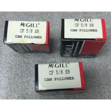 *Lot Of 3* McGill CF 5/8 SB Cam Follower