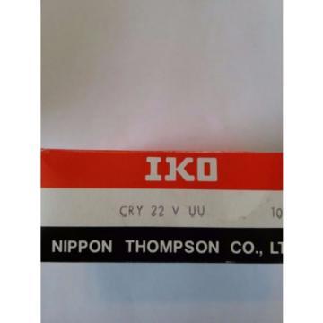 CRY22VUU IKO CAM FOLLOWER YOKE TYPE