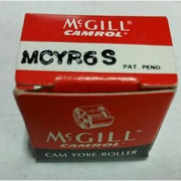 NEW MCGILL MCYR 6 S CAM FOLLOWER MCYR6S