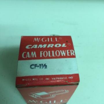 "NEW,  McGILL  CF-  1 1/2""  CAM FOLLOWER   ( QTY. OF 4 )"