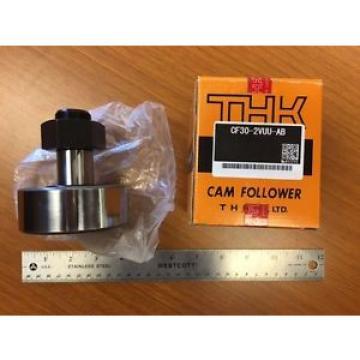 New THK Cam Follower Bearing CF30-2VUU-AB