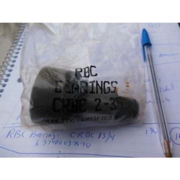 """RBC Bearings CRBC2-35 2""""  cam followers  quantity of 4"""
