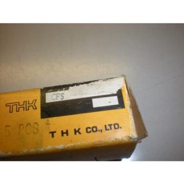 Lot of (4) THK Model CF5 Cam Follower Bearings - NIB
