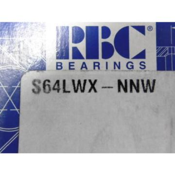 RBC S64LWX-NNW Cam Follower ! NEW !