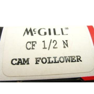 NEW  MCGILL BEARINGS CF-1/2 N CAM FOLLOWER EMERSON