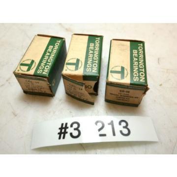 3 Torrington Bearings Cam Followers crs-14 and cr-14 (Inv.36213)