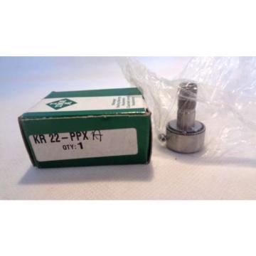 NEW IN BOX INA KR22-PPX-A KR22-PPXA CAM FOLLOWER BEARING