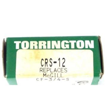 NIB TORRINGTON CRS-12 CAM FOLLOWER CRS12 REPLACES MCGILL CF-3/4-S