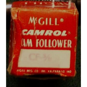 McGill Camrol Cam Follower Roller Bearing - CF - 5/8