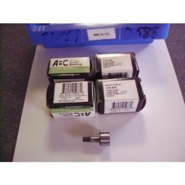 ABC Smith Bearing CR-5/8,  AS9100 (B) ISO9001:2000 cam follower Lot of 4