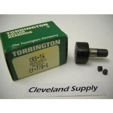 TORRINGTON CRS-14 CAM FOLLOWER (REPLACES CF-7/8-S) NEW CONDITION IN BOX