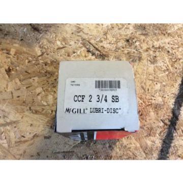 McGill Lubri-Disc camrol cam followers, #CCF2 3/4 SB, NOS, 30 day warranty