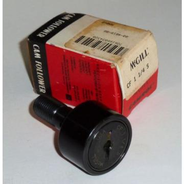 McGill CF 1 1/4 S CAMROL® Stud Cam Needle Bearing Roller/Follower CF Boxed