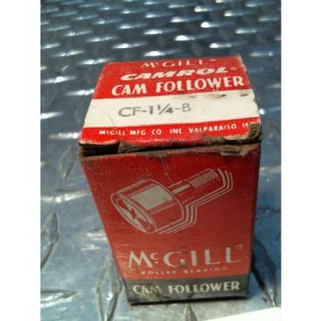 McGill Camrol CamFollower CF 1 1/4 - B  Cam Follower Bearing NIB