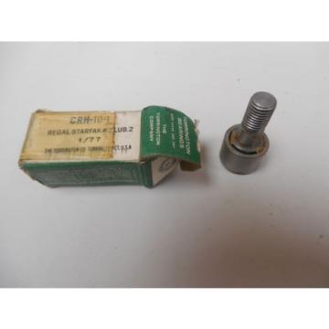 TORRINGTON CAM FOLLOWER CRH-10-1 CRH101 REGAL STARFAK #2 LUB. 2 1/77 NIB