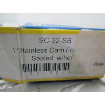 "CARTER SC-32-SB 1"" STAINLESS CAM-FOLLOWER"