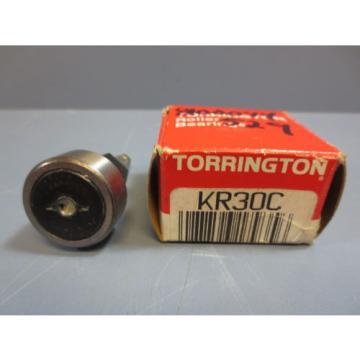 1 Nib Torrington KR30C Cam Follower Roller Bearing OD 30mm 12mm Stud WD 14mm