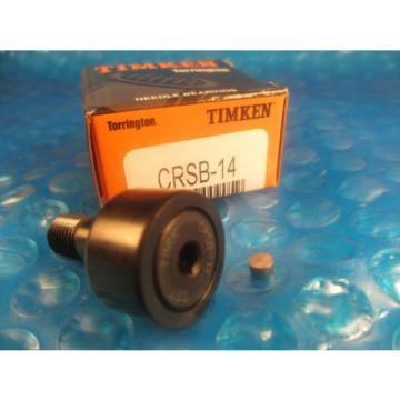 Torrington Timken CRSB14, CRSB 14,Standard Stud Cam Follower(=2 McGill CF 7/8 SB