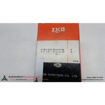 IKO CF18VBUUR CAM FOLLOWER CF SERIES, NEW #113636