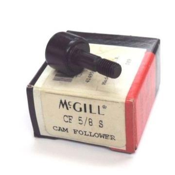 NIB MCGILL CF-5/8-S CAM FOLLOWER CF58S