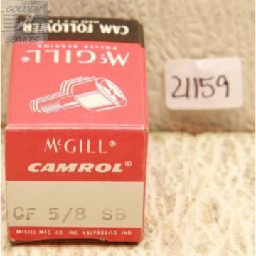 McGill CF-5/8-SB Cam Follower Bearings