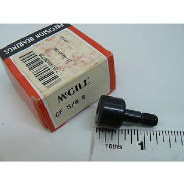 NEW MCGILL CF5/8S CAM FOLLOWER 5/8IN ROLLER DIA 1/4INCH STUD S