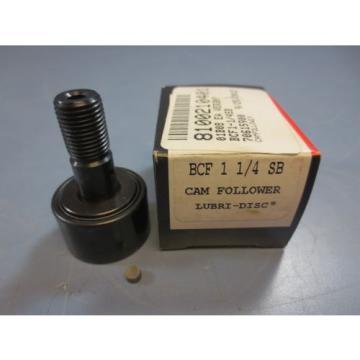 """1 Nib McGill BCF-1-1/4-SB BCF114SB Cam Follower Bearing RD 1.2500"""" RW .7500"""""""