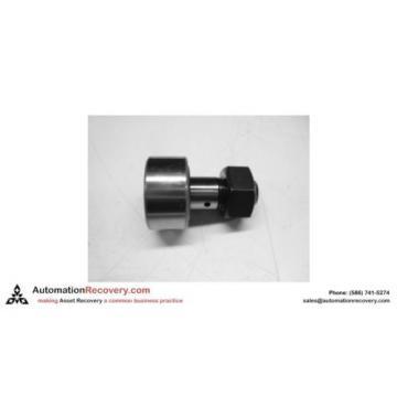MISUMI CFFA16-35  CAM FOLLOWER CFFA16-35, HEXAGON NUT, BLACK OXIDE, NEW #134973