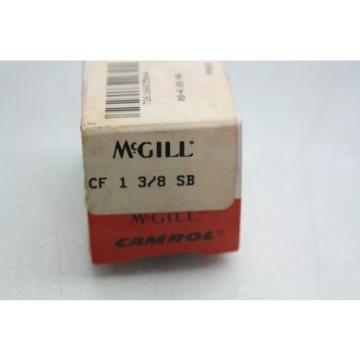 """3 New McGill CF-1-3/8-SB Cam Follower Bearings 1-3/8"""" Diameter x 1-1/4 Long"""