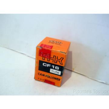 New THK Co. Cam Follower Bearing, 35mm Dia, 52mm Length, CF16 HuuRA