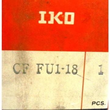 IKO BEARINGS, CAM FOLLOWER, CF FU1-18, 40MM OD, 21MM THICK